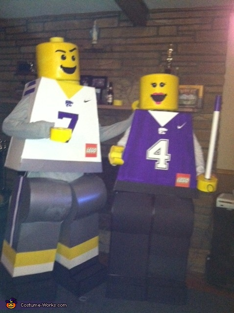 Lego minifigures at a dance party, Lego Minifigures Costume