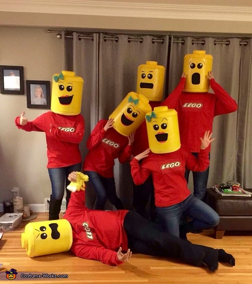 LEGO Minifigures Group Costume