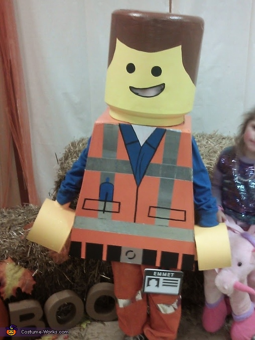 Lego Movie Emmet Homemade Costume
