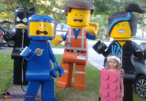 Lego Movie Family Costume