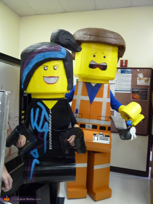 Emmet and Wyldstyle, Lego Movie Family Costume