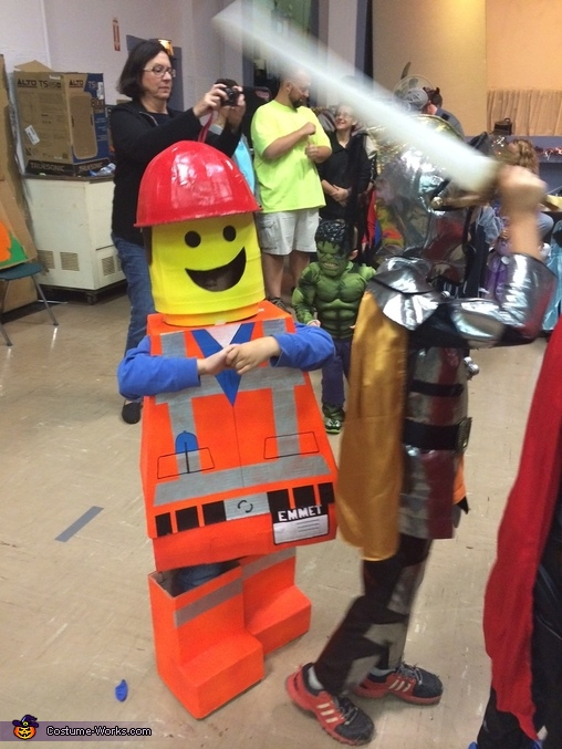 Lego Movie Family Costumes