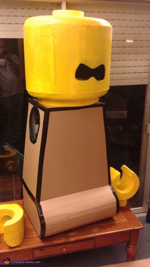 Duct tape makes everything better, Lego Movie Family Costume