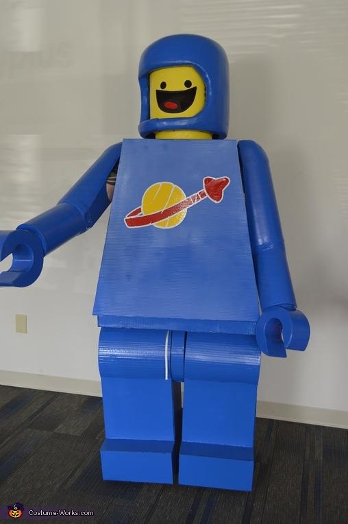 LEGO Movie Group Homemade Costume