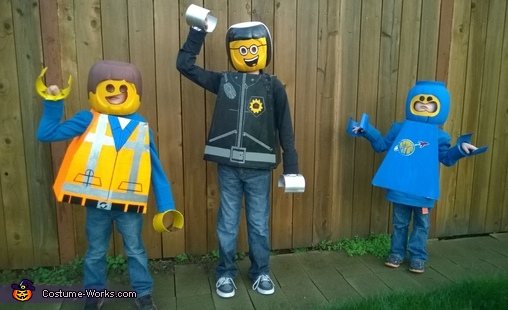 Lego Movie Legos Costume