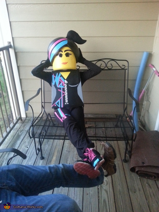 Lego Wyldstyle Costume Photo 4 4