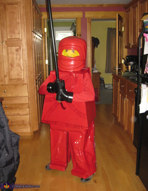 Lego Ninja - Homemade costumes for kids