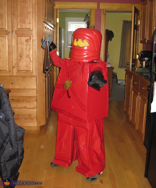 Homemade Lego Ninja Costume