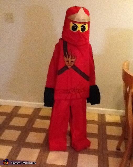 LEGO Ninjago - Red Ninja Costume, Lego Ninjago Costume