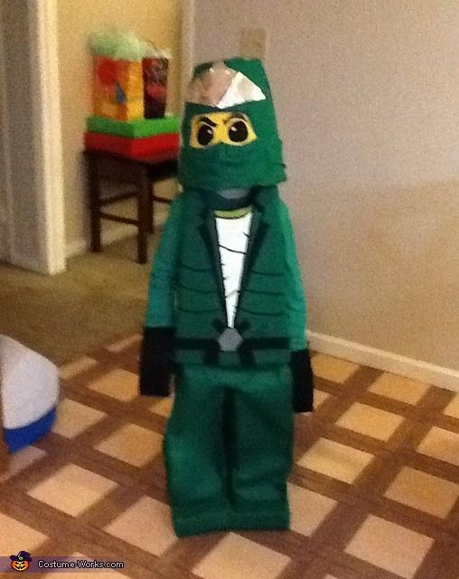 LEGO Ninjago - Green Ninja Lloyd Lego Ninjago Costume & Lego Ninjago DIY Costumes - Photo 3/4