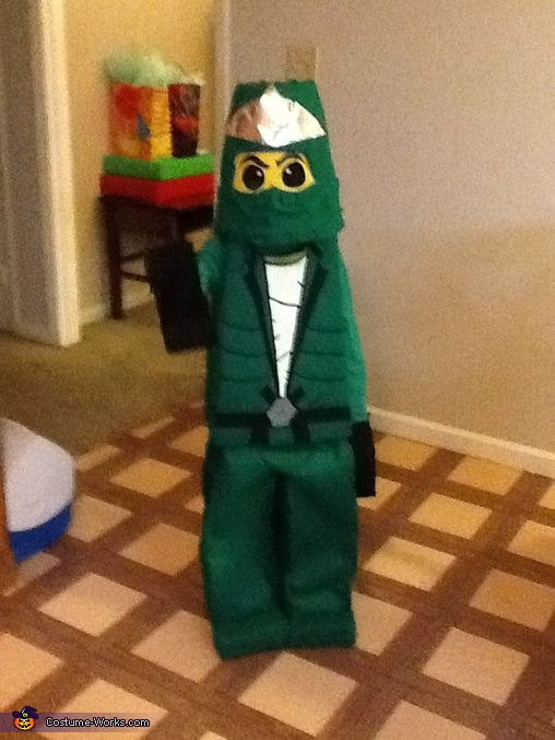 LEGO Ninjago - Green Ninja Costume, Lego Ninjago Costume