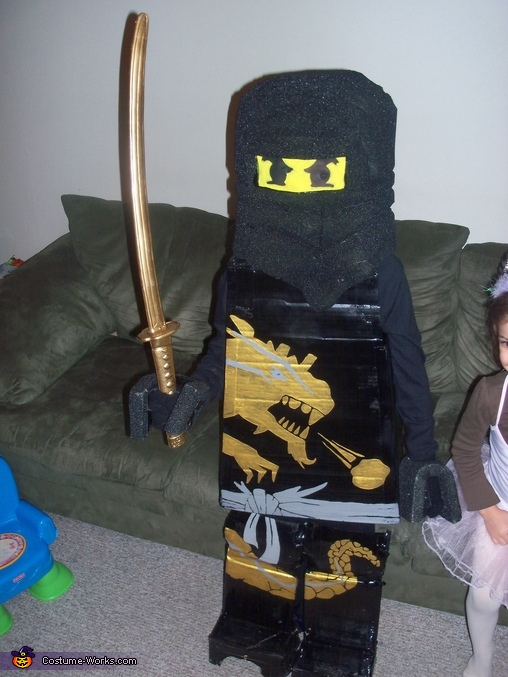 Lego Ninjago Cole DX - Homemade costumes for boys