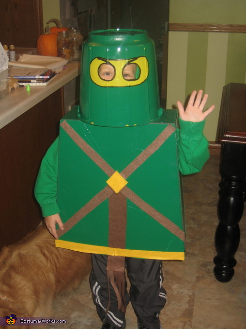 Lego Ninjago Green Ninja Costume : kids green ninja costume  - Germanpascual.Com