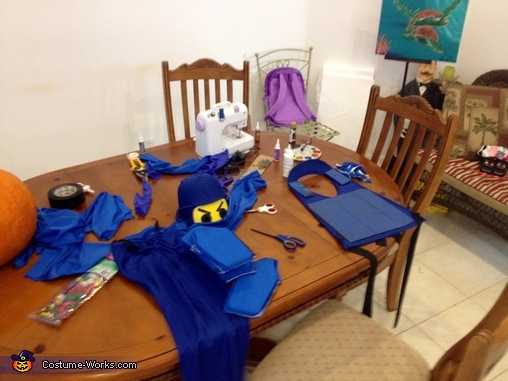 My after hours work shop, Lego Ninjago Jay Costume