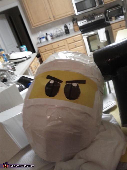 Lego Ninjago White Ninja Costume