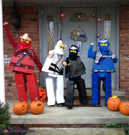 Ninja Go!!!, Lego Ninjagos Costume
