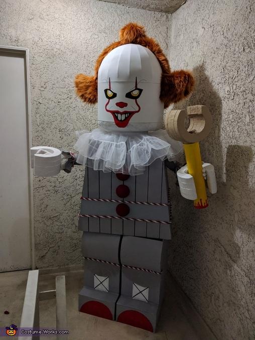 Lego Pennywise Costume