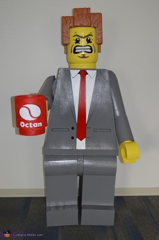 Lego President Business Costume