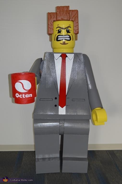 Lego President Business Costume