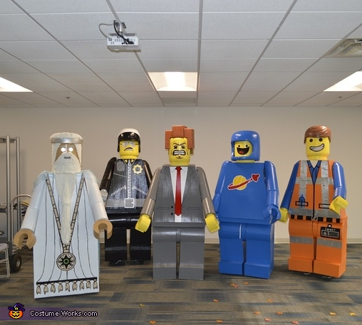 The group, Lego President Business Costume