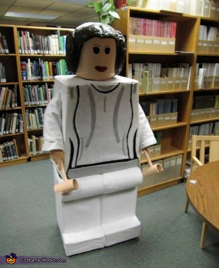 Lego Princess Leia Costume