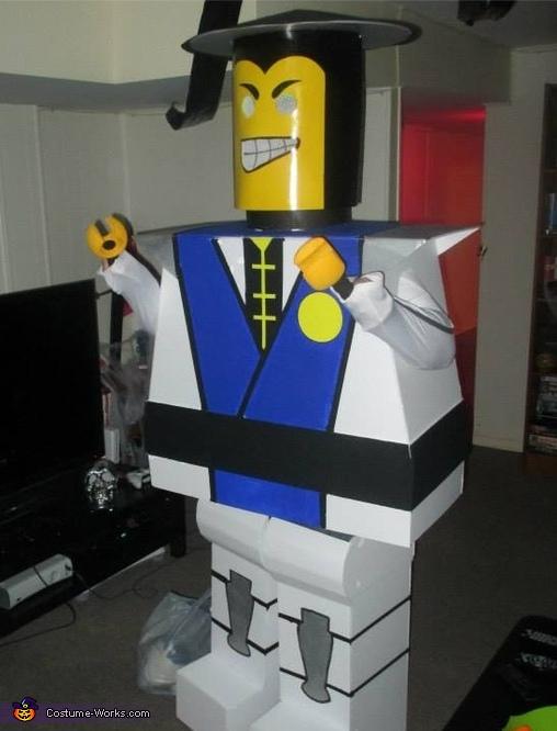 Lego Raiden Costume