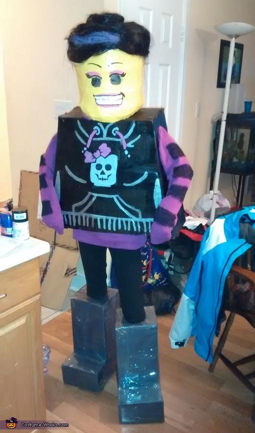 Lego Skater Girl Costume