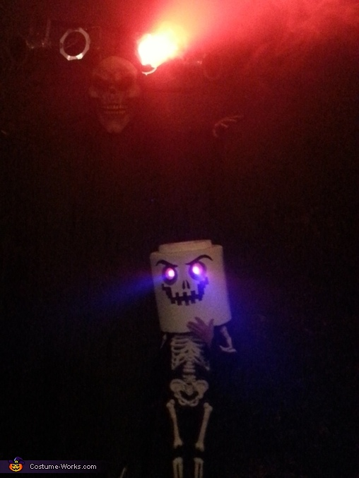Lego Skeleton Homemade Costume