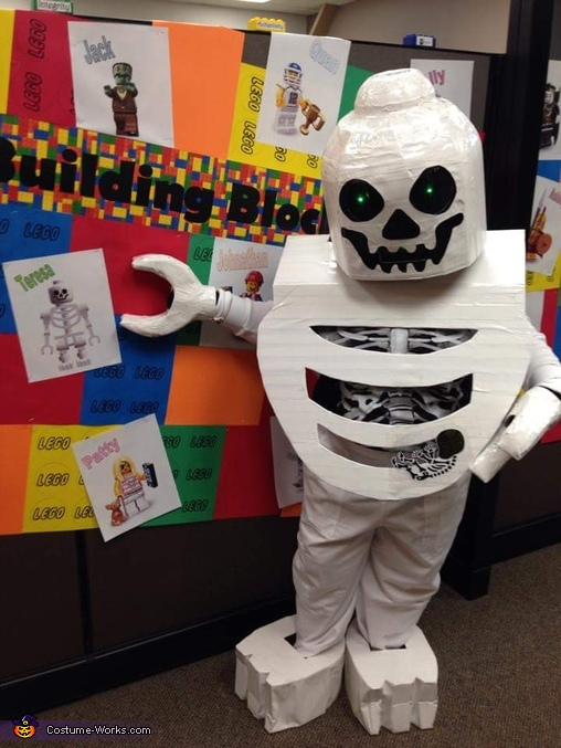 Lego Skeleton with Baby Costume