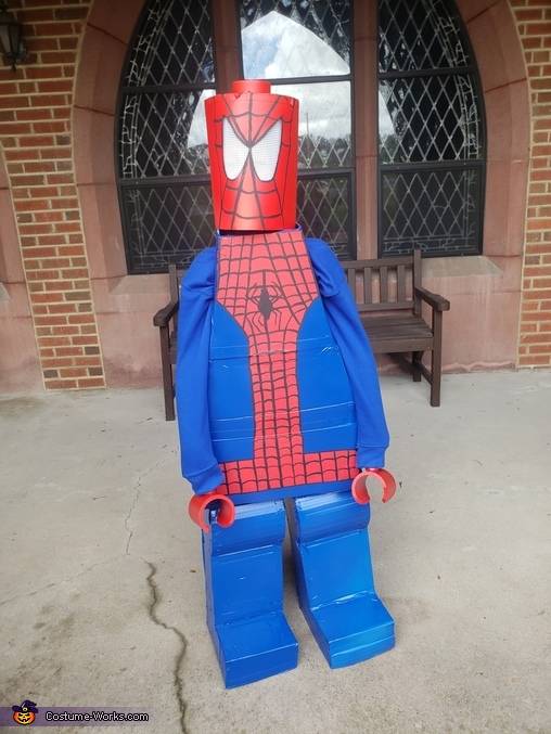 Lego Spiderman Costume