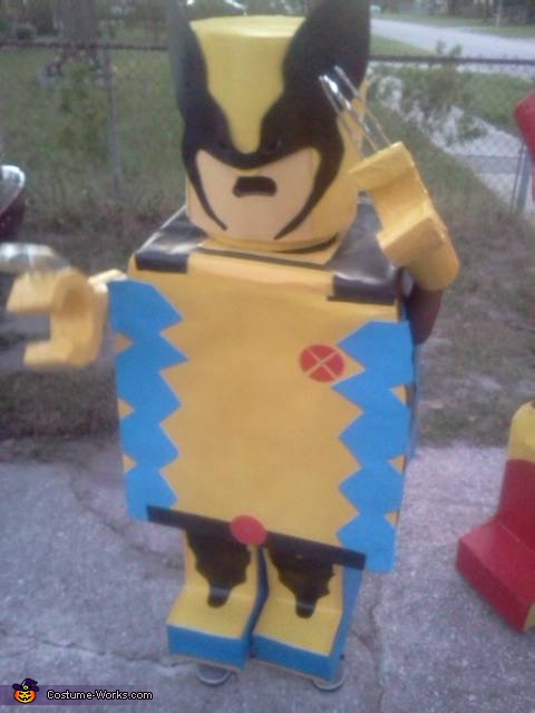Homemade Lego Superheroes Costumes
