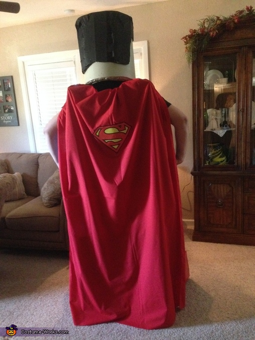 Lego Superman! The back! , LEGO Superman Costume