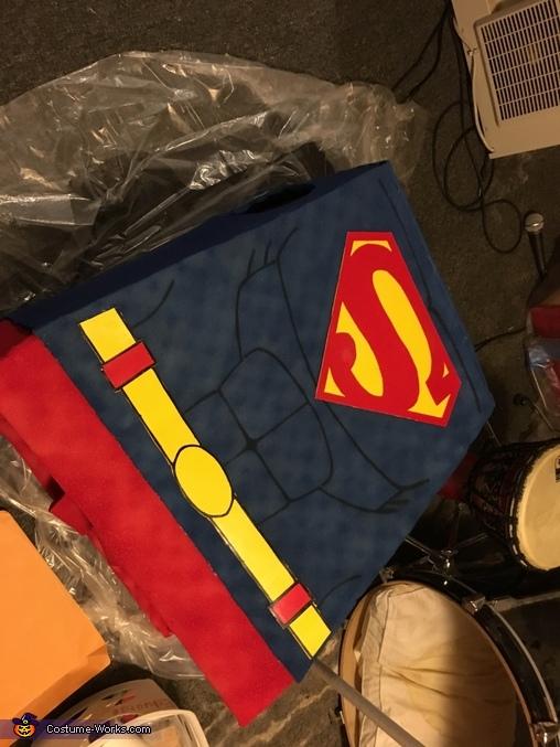 Torso complete!, LEGO Superman Costume