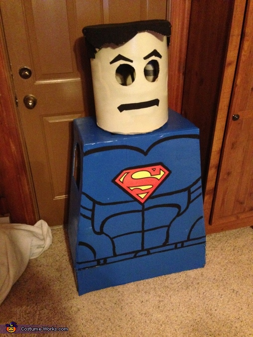 Lego Superman! The Early Stages!, LEGO Superman Costume