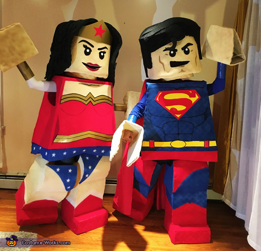 LEGO Superman & Wonder Woman Costume