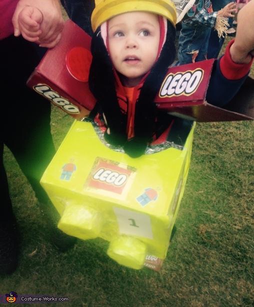 Lego Toy Baby Costume