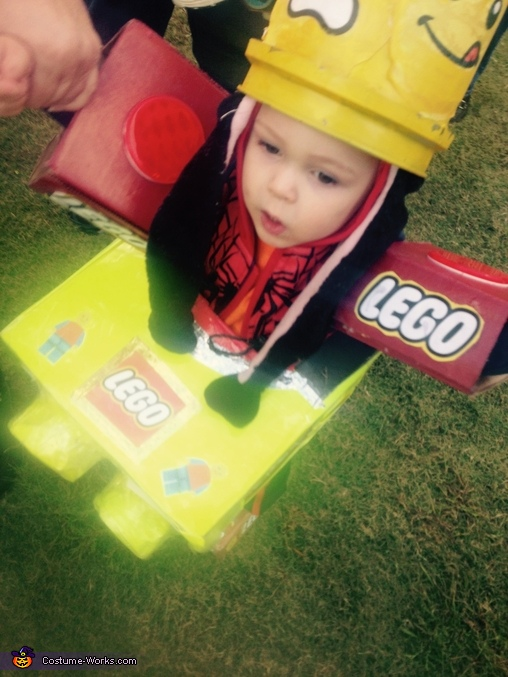 Lego Toy Homemade Costume