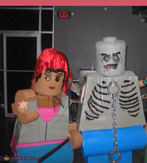 Lego Walking Dead Homemade Costume