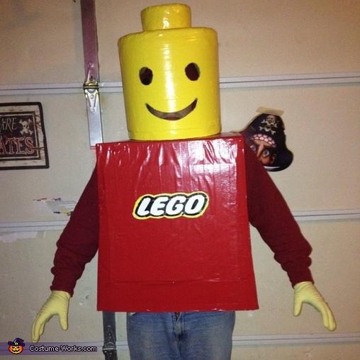 Legoman #2, Legoman Costume