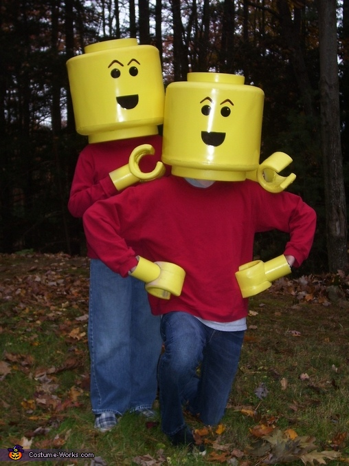 Lego Minifigs - Homemade costumes for boys