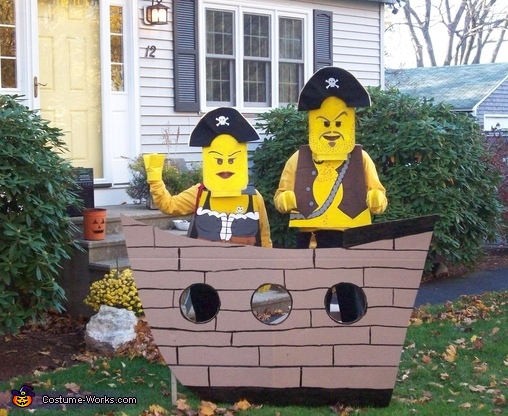 Homemade Lego Pirate Costumes
