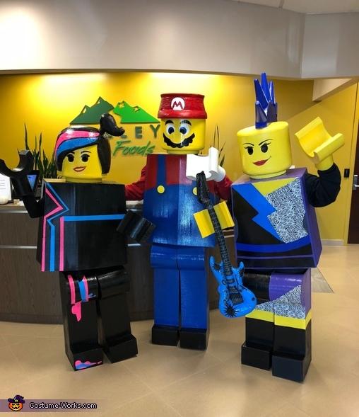 Legos 4 Life Costume