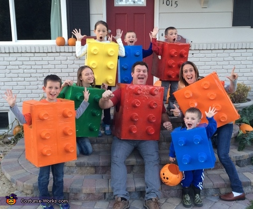 Legos Family Costume