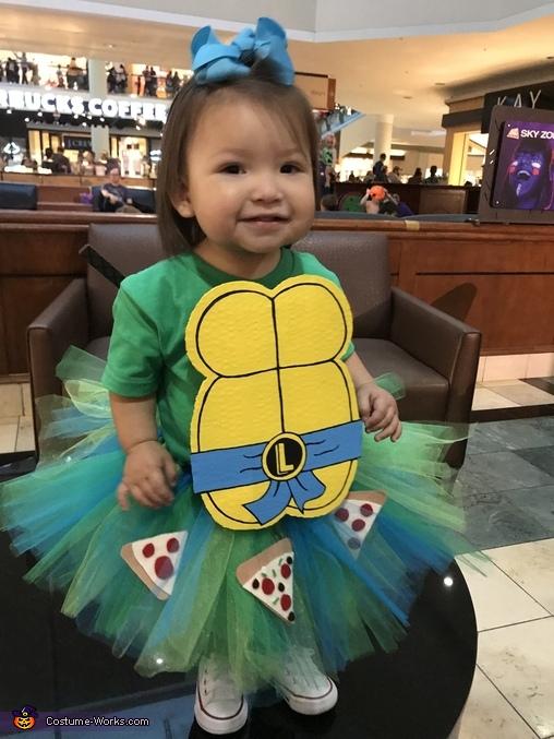 Leonardo Ninja Turtle Homemade Costume