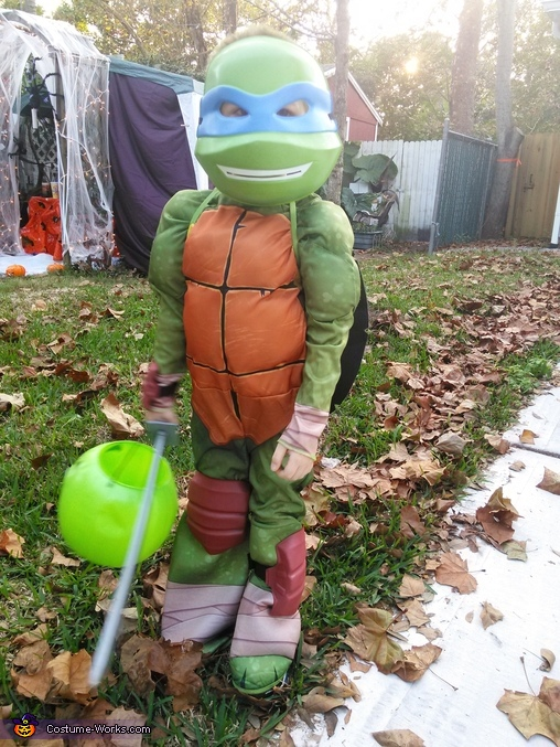 Leonardo Ninja Turtle Costume