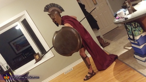 Leonidas Homemade Costume