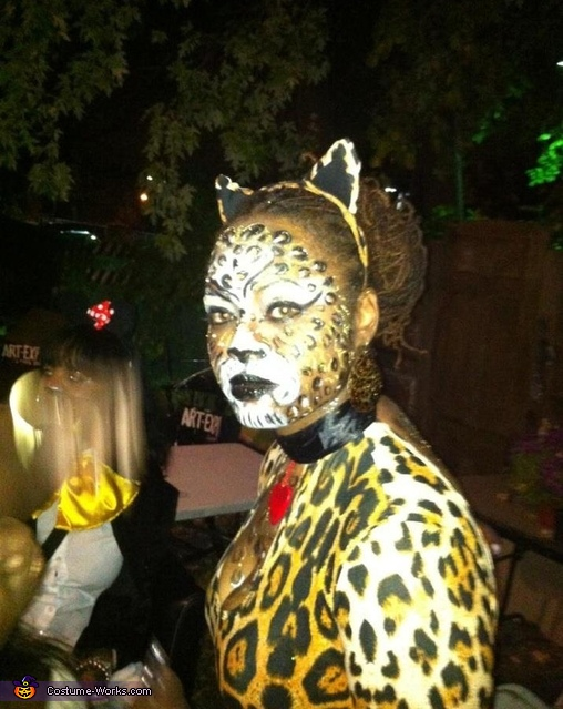 Leopard Kitty - Homemade costumes for women