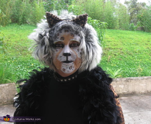 Leopard Woman Costume