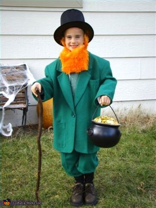Leprechaun - Homemade costumes for boys