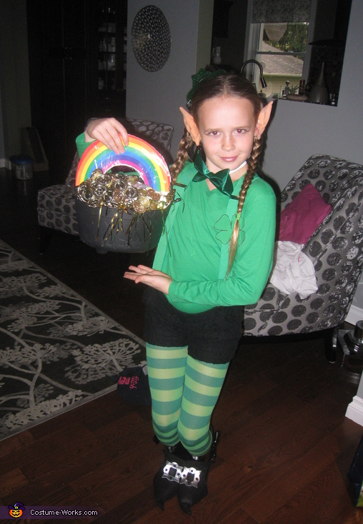 Girly Leprechaun Costume